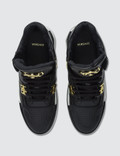 Versace High Top Basketball Sneakers Black Men