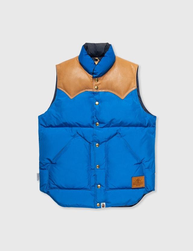 BAPE Bape X Rocky Mountain Vest Blue Archives