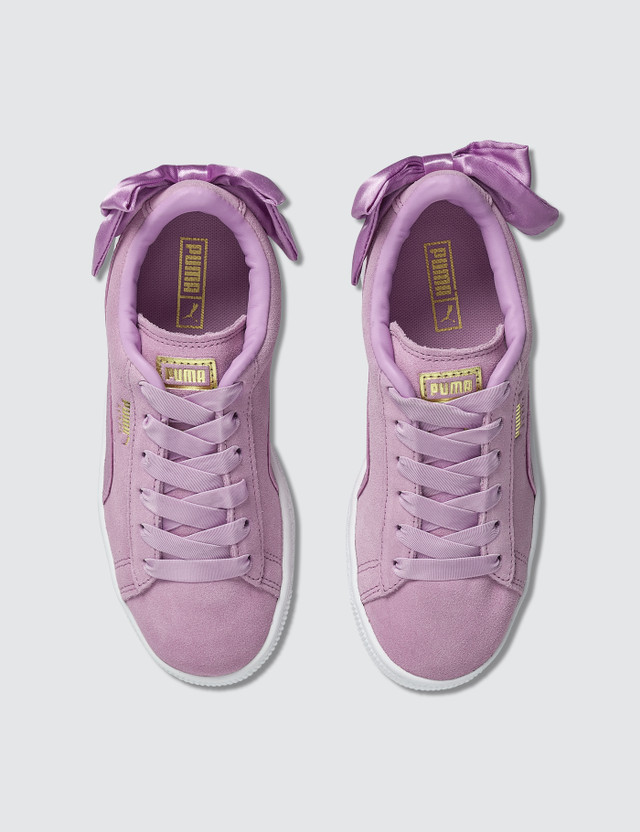 Puma Suede Bow AC Pre-School Orchid/orchid Kids