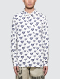 Human Made Heart Pattern Shirt Picutre
