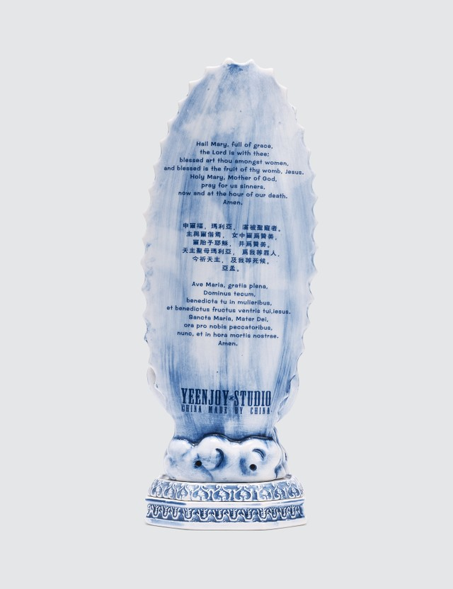 Yeenjoy Studio Madonna Incense Burner Blue Life