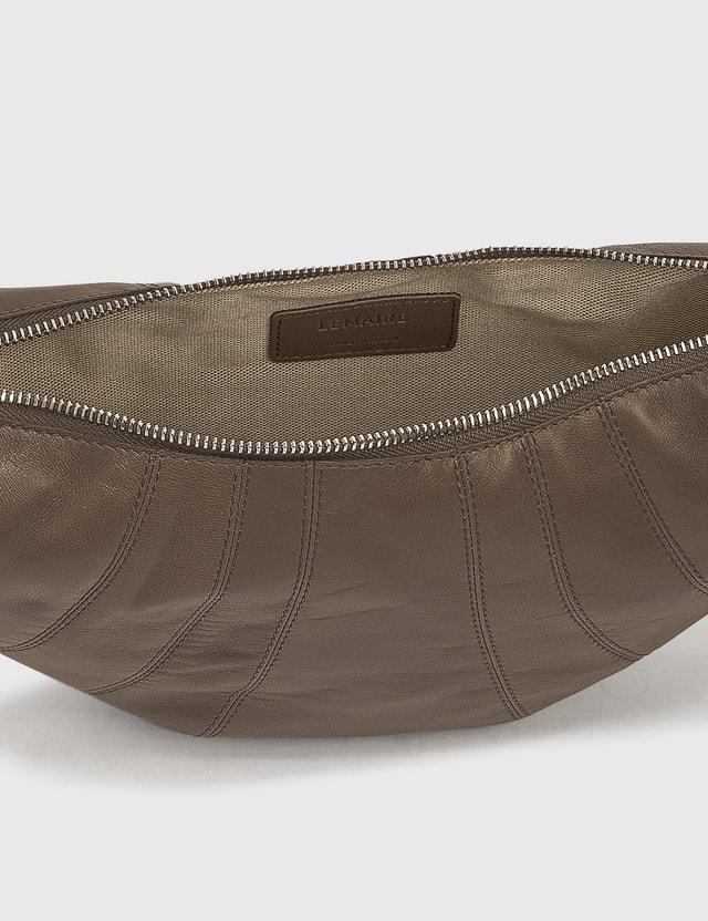 Lemaire Small Croissant Bag Concrete Grey Women