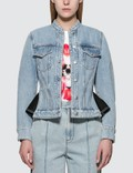 Alexander McQueen Panelled Denim Jacket Picture