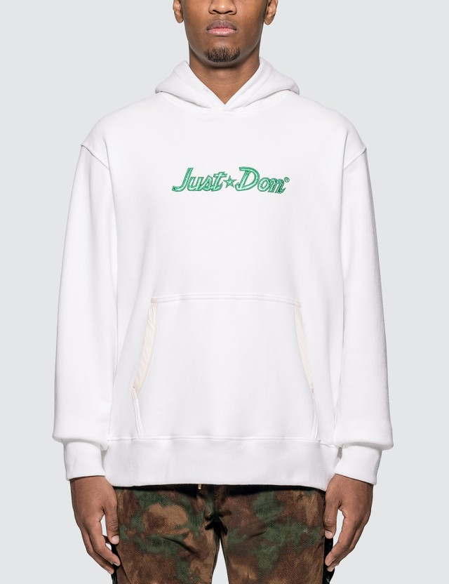 Just Don Just Don Logo Hoodie =e32 Men