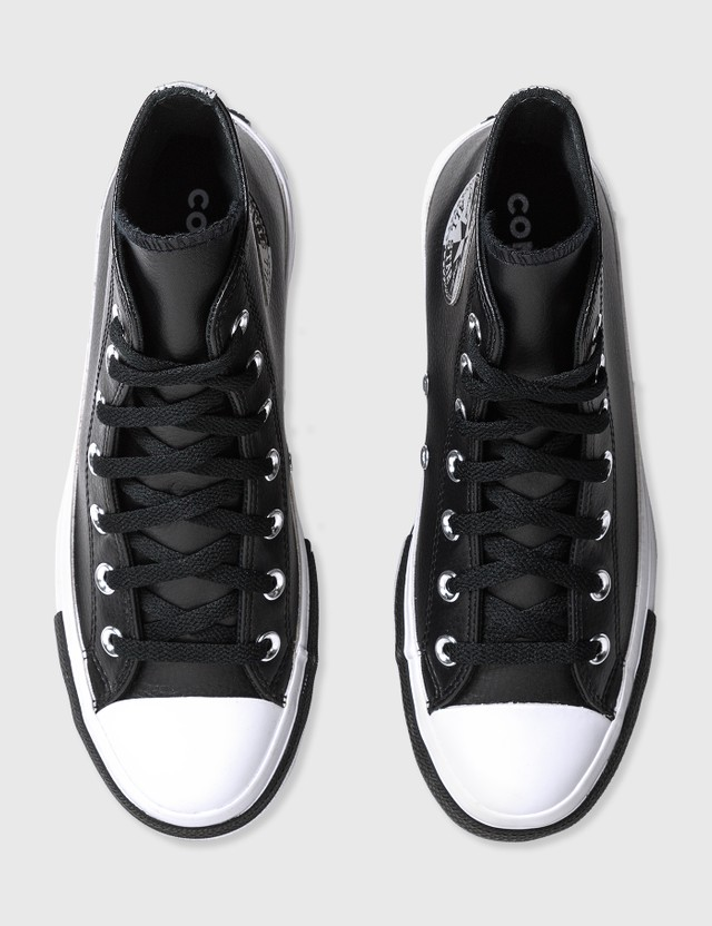 Converse Chuck Taylor All Star Double Stack Lift Black/white/silver Women