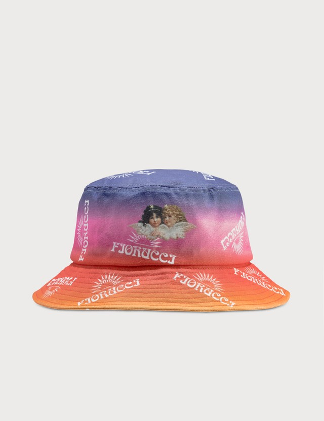 Fiorucci Sunset Print Bucket Hat