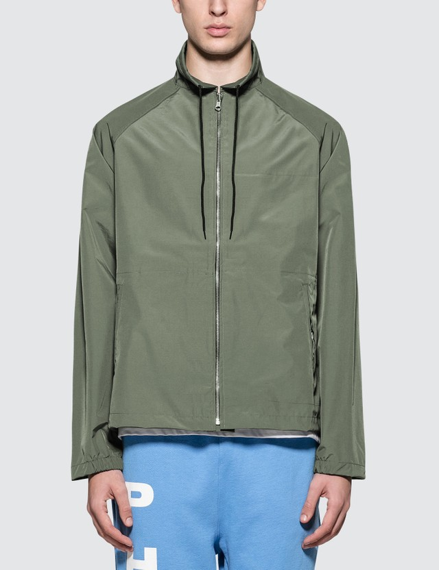 Richardson Coaches Jacket Natural & Green Men