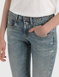 R13 Boy Straight Jeans Carlton Stretch Women