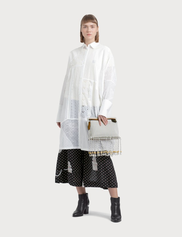 Loewe Shirtdress Broderie Anglaise