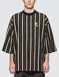 Maison Kitsune Stripes Oversized T-Shirt Picture