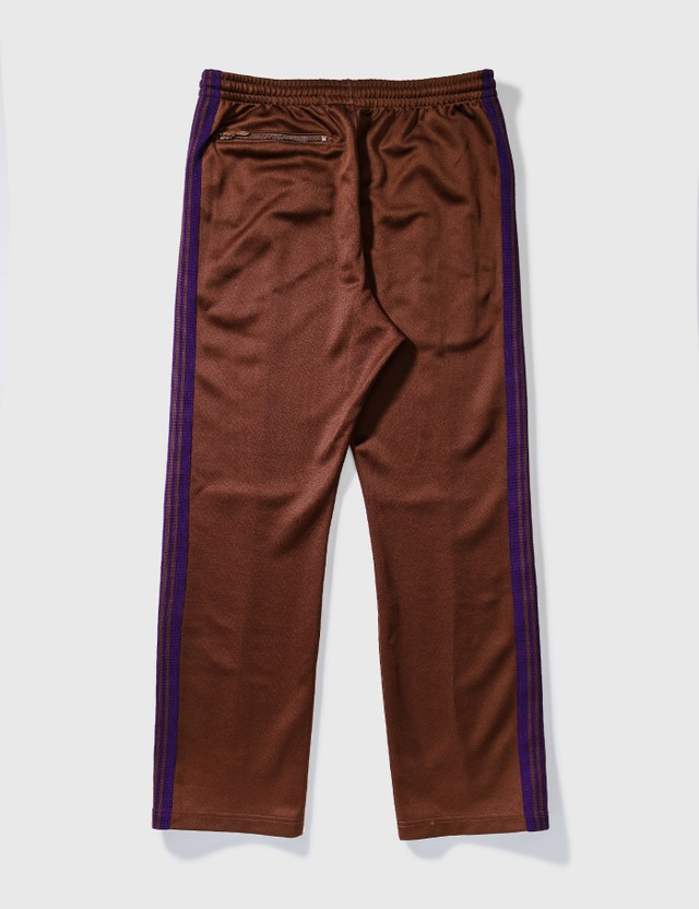 Needles Needles poly smooth Trackpants Brown Archives