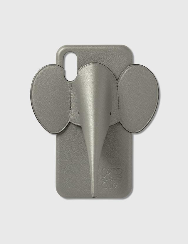 Loewe Elephant Phone Cover X/Xs Gunmetal Unisex