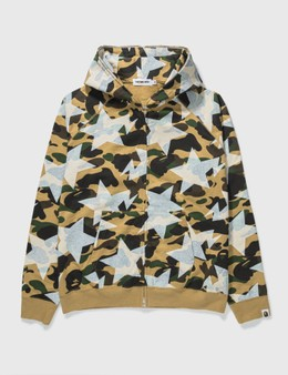 BAPE Bape Star Camo Zip Up