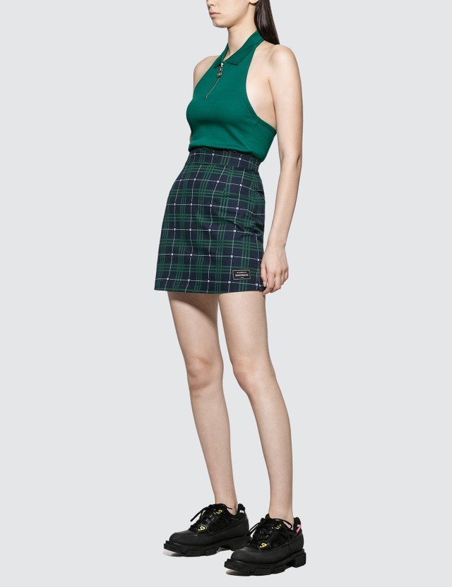 Wasted Paris Tartan Skirt