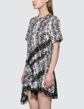 KOCHÉ Python Print Panel Dress Black & White Python Print Women