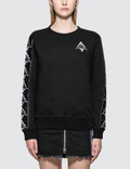 Marcelo Burlon Kappa Tape Sweatshirt Picture