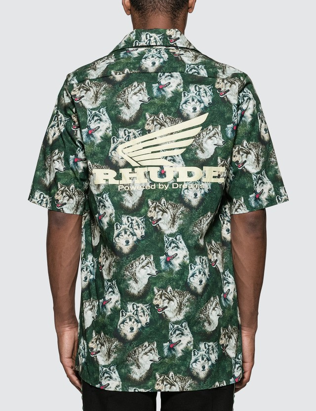 "Rhude Truck Stop ""Wolf In The Pines"" Shirt"