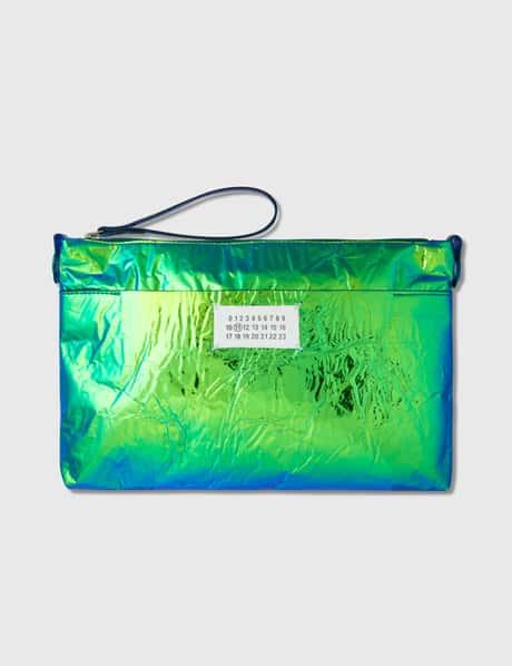 메종 마르지엘라 Maison Margiela Iridescent Clutch Bag
