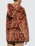 Aries Leopard Faux Fur Hoodie