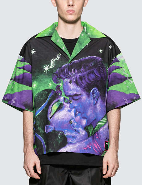 프라다 Prada S/S Hawaiian Shirt