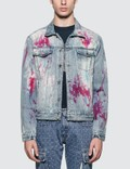 GEO Painters Canvas Denim Jacket Stonewash Men