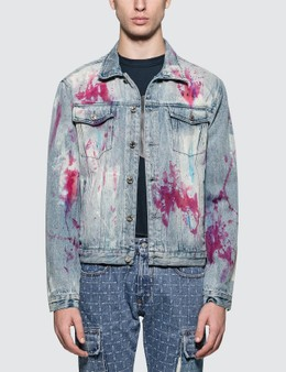 GEO Painters Canvas Denim Jacket