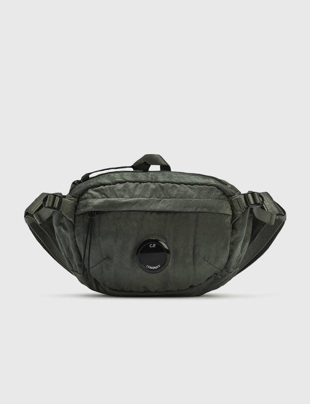 CP Company Lens Nylon Belt Bag Laurel Wreat Men