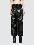 Alexander Wang.T Papery Faux Leather Pants Picture