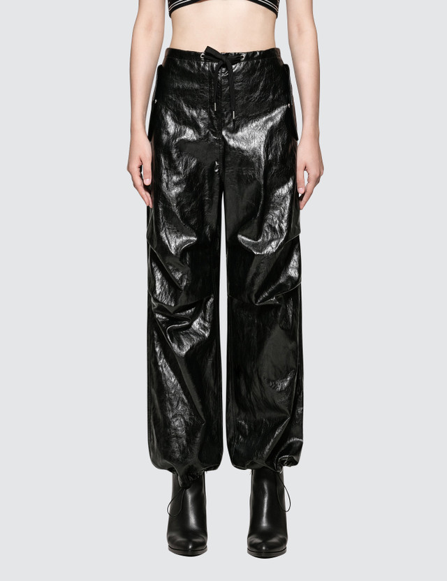 Alexander Wang.T Papery Faux Leather Pants