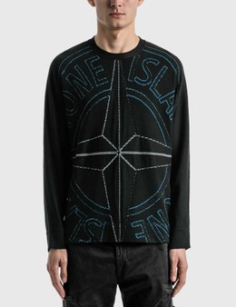 Stone Island Compass Logo Sweater