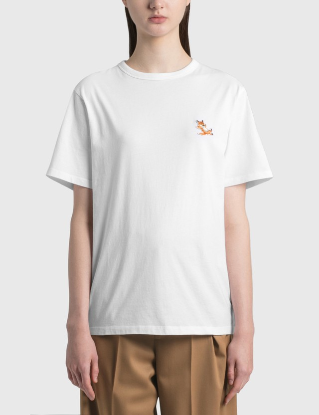 Maison Kitsune Chillax Fox Patch Classic T-shirt