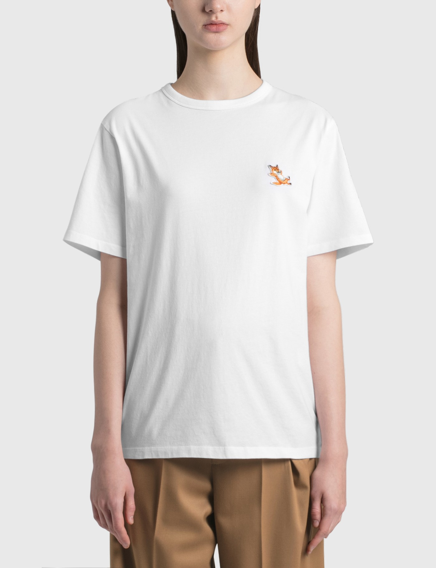 Maison Kitsuné CHILLAX FOX PATCH CLASSIC T-SHIRT