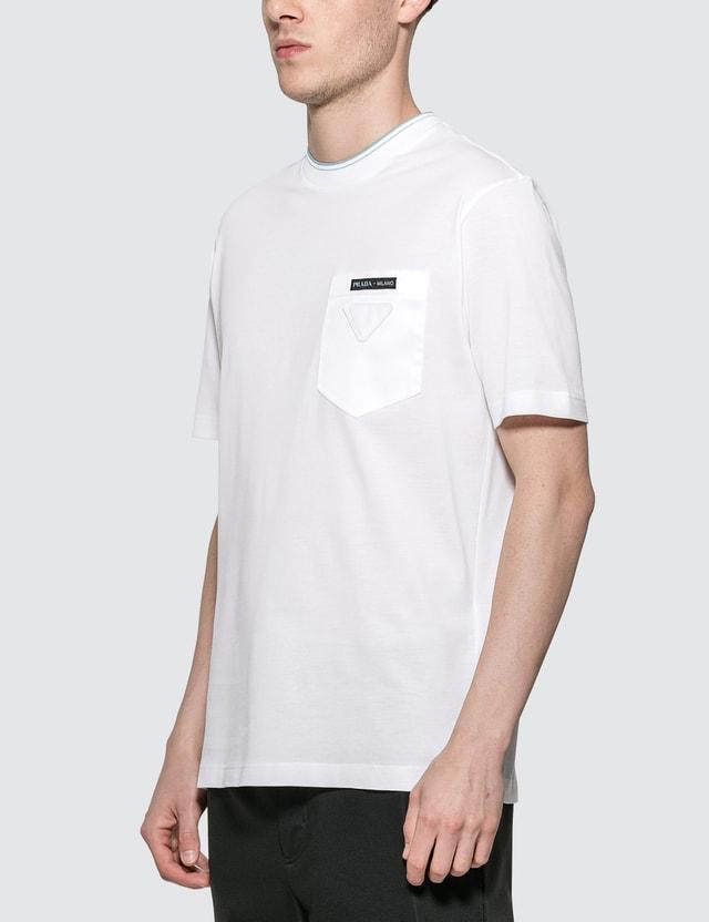 Prada Logo Pocket T-Shirt