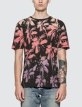 Saint Laurent Dip Dye Palm Print T-shirt 사진