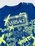 Versace Graffiti Long Sleeve T-shirt (Toddler)