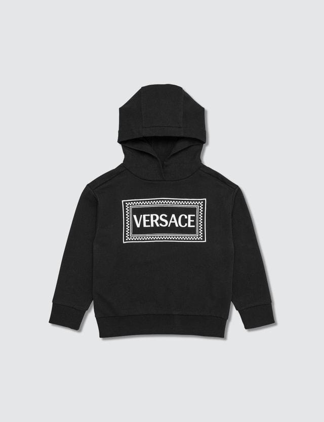 Versace Vintage Logo Hoodie (Kids) Black-white Kids