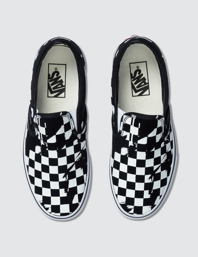 Vans Overprint Check Classic Slip-on