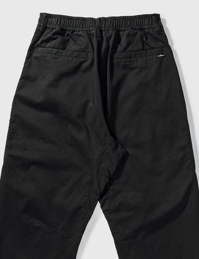 Stone Island Shadow Project Vent Panel Pants Black Men