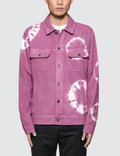 Stussy Bleach Dyed Trucker Jacket Picture