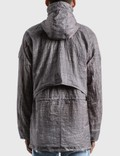 Stone Island Reflective Grid Parka Blue Grey Men