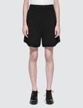 Alexander Wang Fleece High-waist Gym Shorts Picture
