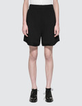 Alexander Wang Fleece High-waist Gym Shorts Picture