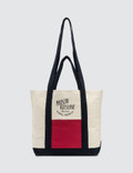Maison Kitsune Color Block Small Shopping Bag Picture