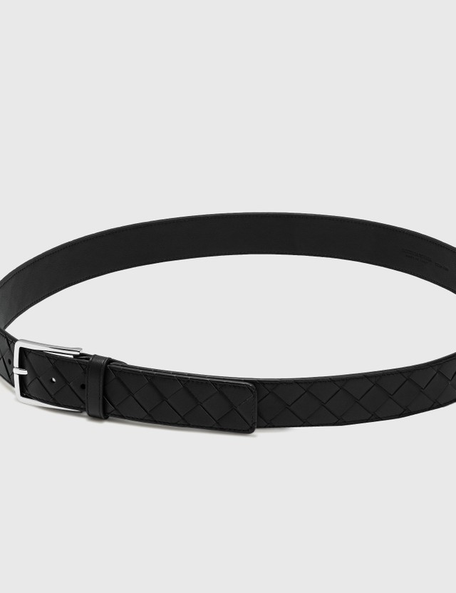 Bottega Veneta Light Calf Belt 8997-fondente/fond/fon-si Men