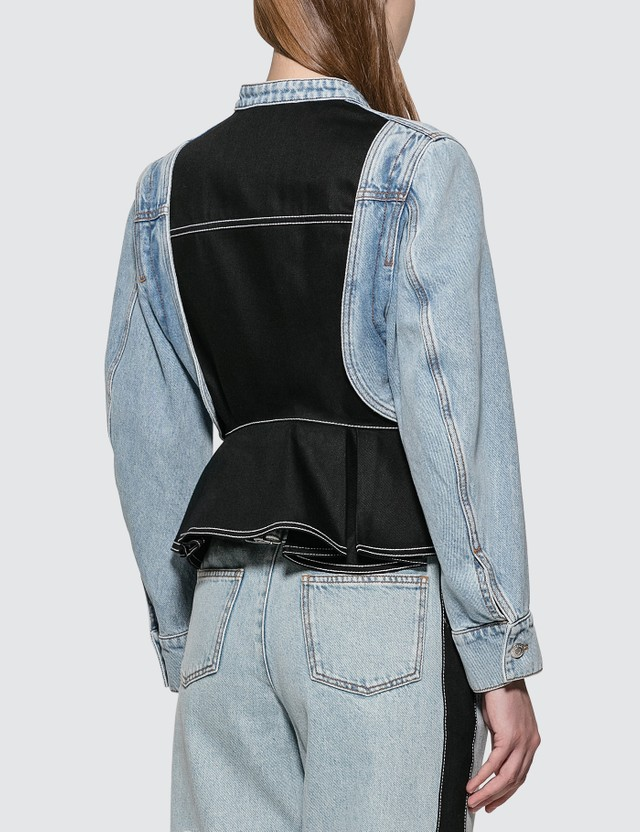 Alexander McQueen Panelled Denim Jacket