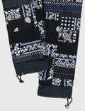 Sacai Hank Willis Thomas Archive E Print Mix Pants Black Navy Multi Men