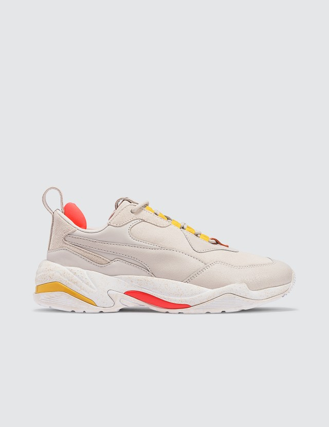 Puma Thunder Distressed Wn's Pastel Parchment-puma Silver Women