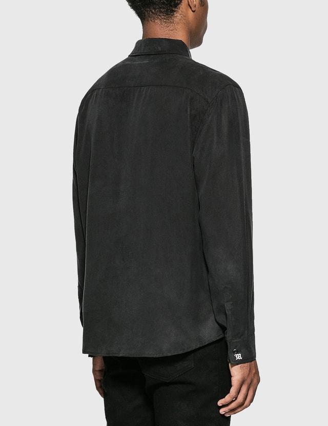 Misbhv Tencel Shirt Black Men