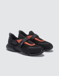 Prada Upper Cloud Bust Contrast Velcro Sneaker