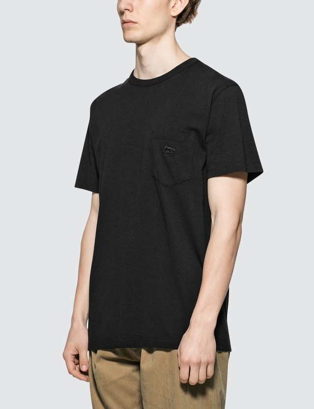 Maison Kitsune Black Fox S/S T-Shirt